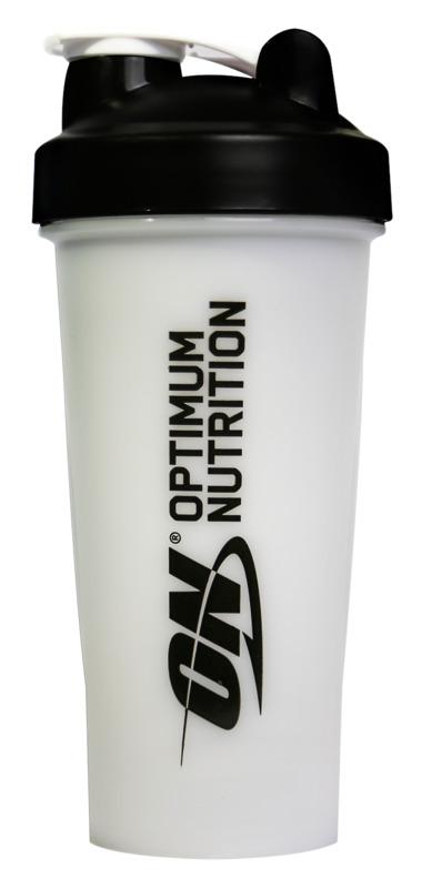 Optimum Nutrition Standard Shaker 600ml - White