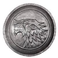 Game of Thrones Prop Replica Pin - Stark Direwolf Shield image