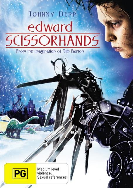 Edward Scissorhands on DVD