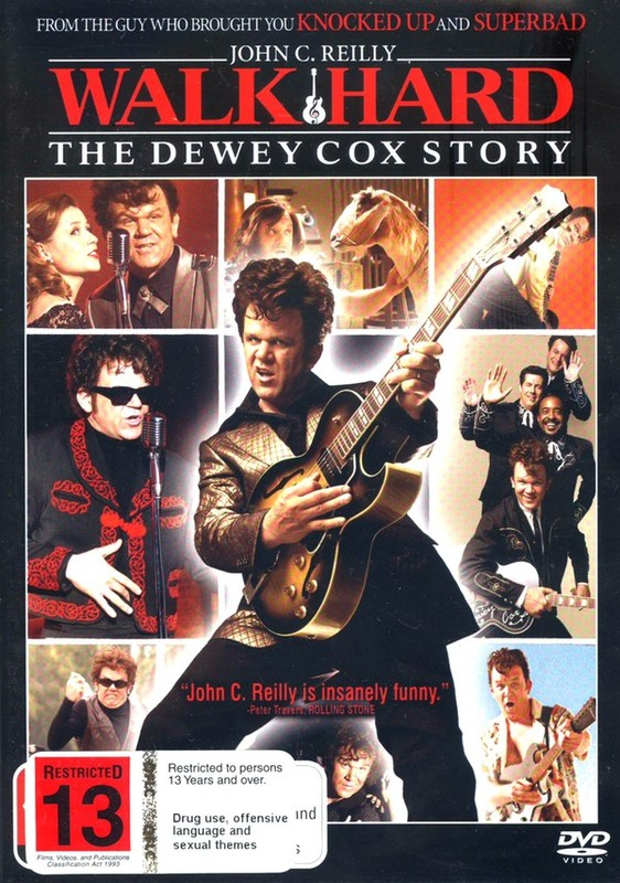 Walk Hard - The Dewey Cox Story on DVD