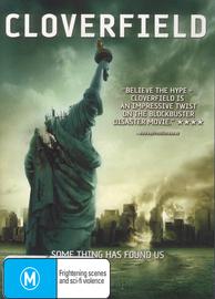 Cloverfield on DVD image