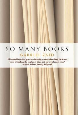 So Many Books by Gabriel Zaid image