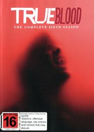 True Blood - Season 6 on DVD