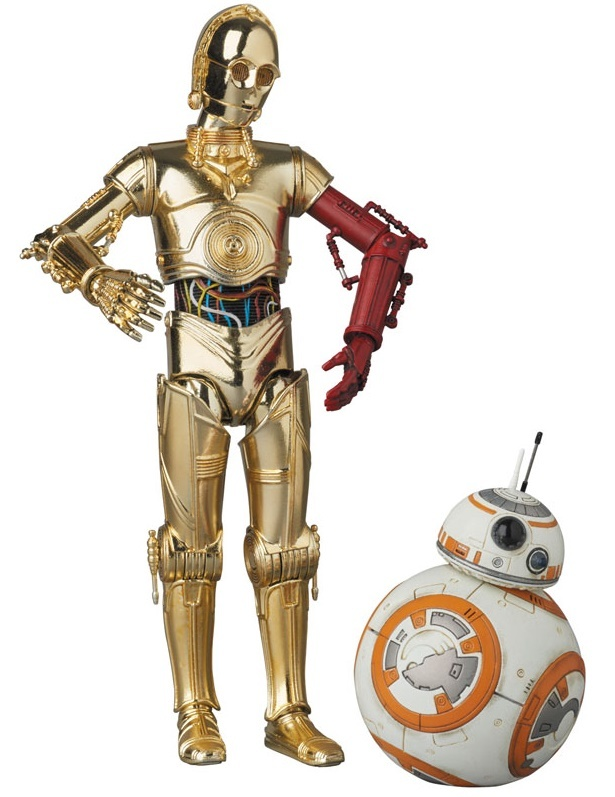 Star Wars - C-3PO & BB-8 - MAFEX Action Figure