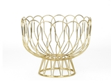 Wired Fruit Bowl - Gold
