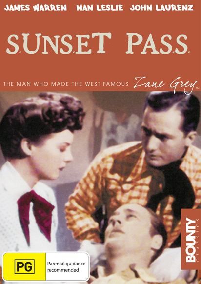 Sunset Pass on DVD image