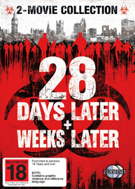 28 Days Later + 28 Weeks Later - 2-Movie Collection (2 Disc Set) on DVD image