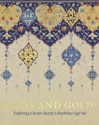 Lapis and Gold by Elaine Wright
