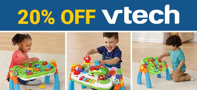 20% off Vtech!