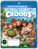 The Croods on DVD, Blu-ray