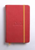 Rhodiarama A6 Webnotebook Plain (Poppy)