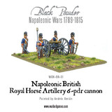 Napoleonic Wars: British Horse Artillery 6-pdr Cannon