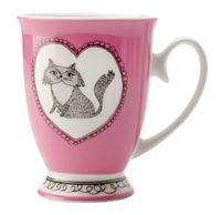 Maxwell & Williams: Purrfect Mug - Purple (290ml)