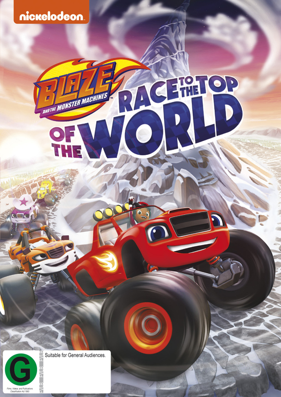 ce36ac801c0f Blaze And The Monster Machines: Race To The Top Of The World | DVD |  In-Stock - Buy Now | at Mighty Ape NZ