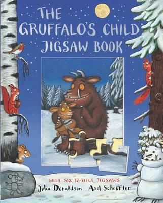 The Gruffalo's Child Jigsaw Book by Julia Donaldson image