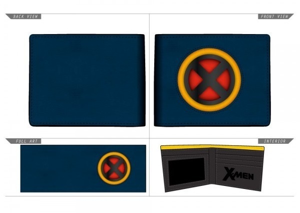 Marvel: X-Men Logo - Bi-Fold Wallet (Navy/Yellow) image