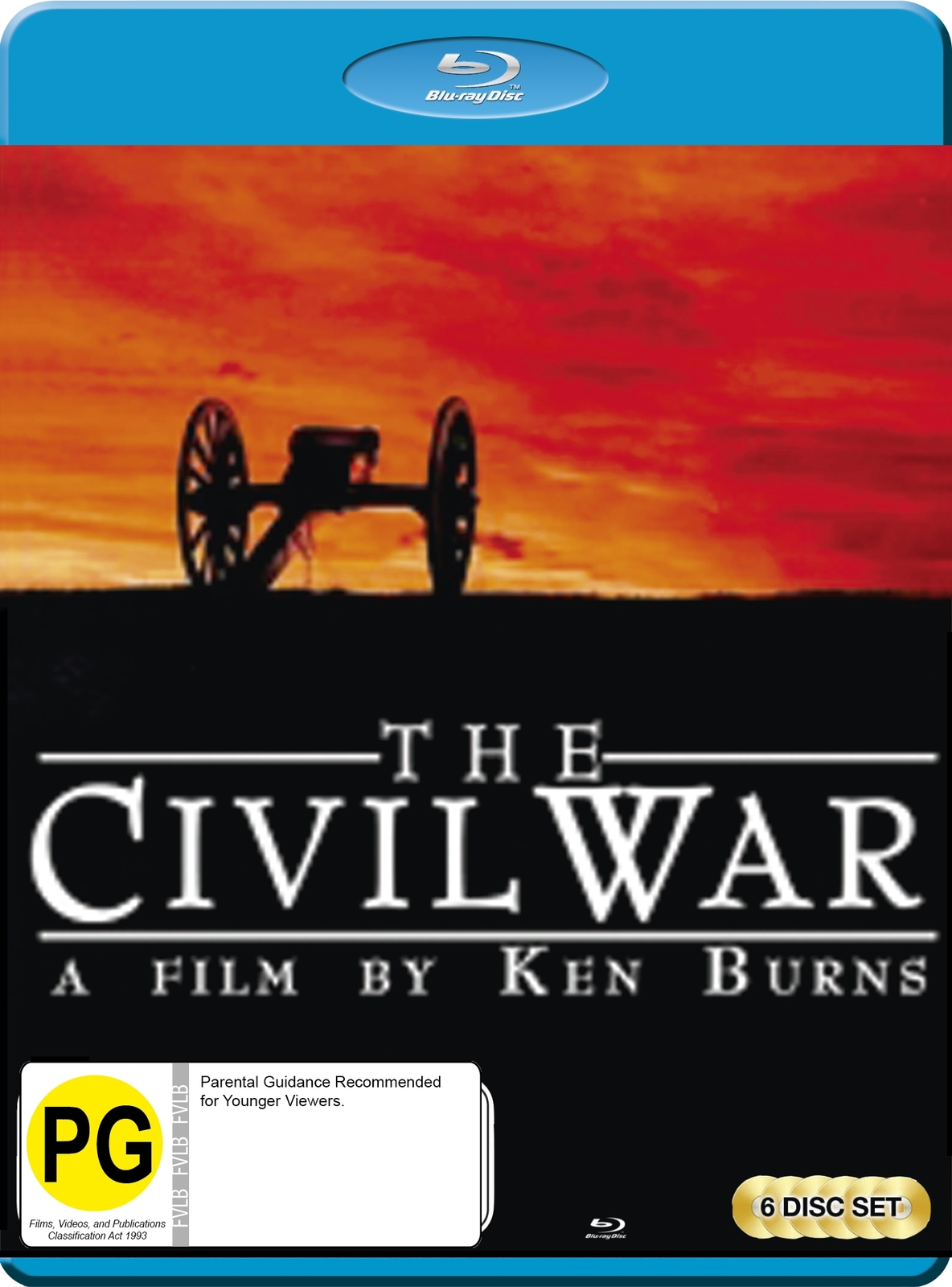 The Civil War: A Ken Burns Film - Remastered Edition on Blu-ray image