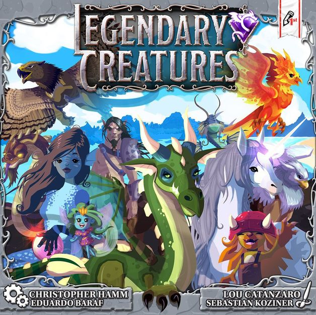 Legendary Creatures - Board Game