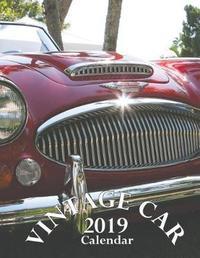 Vintage Car 2019 Calendar by Wall Publishing