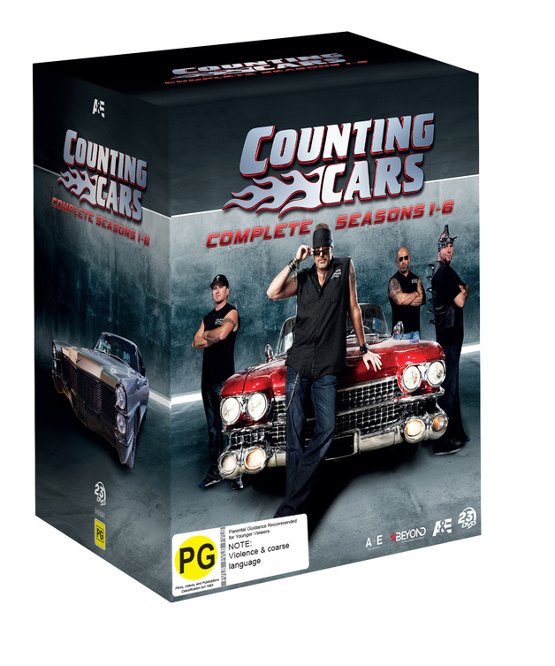 Counting Cars Ultimate Collection on DVD