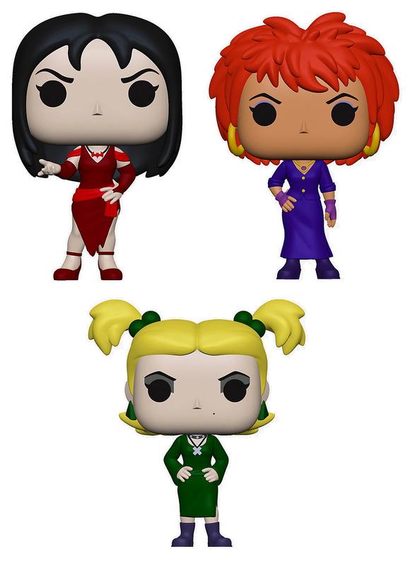 Scooby Doo: Hex Girls - Pop! Vinyl 3-Pack