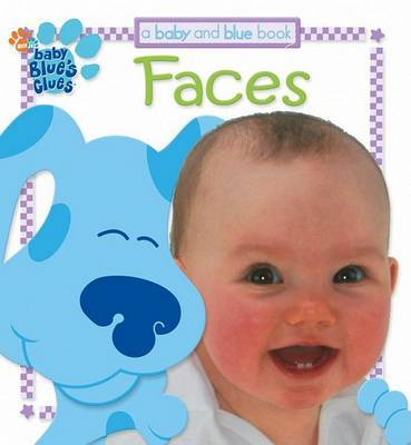 Baby and Blue Board Book: Faces by Jenny Miglis image