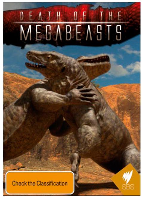 Death of the Megabeasts on DVD image