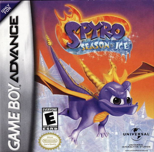 Spyro The Dragon: Season of Ice for Game Boy Advance