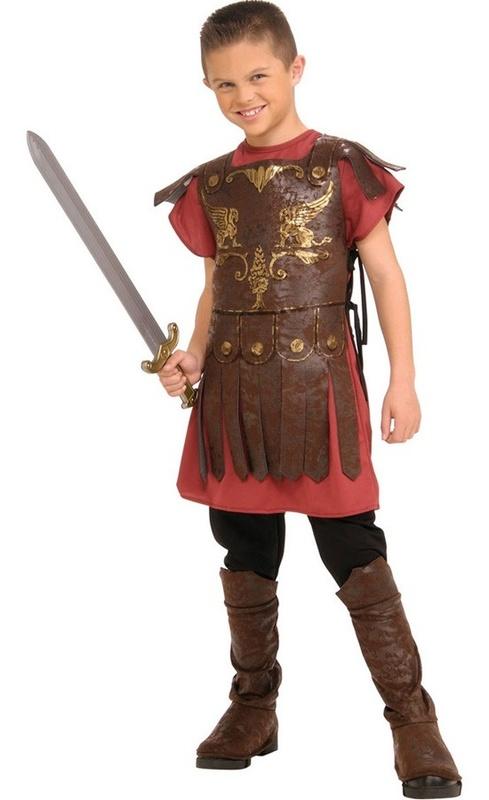 Kids Roman Gladiator Costume (Medium)