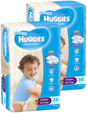 Huggies Nappies Bulk Bundle - Toddler Boy 10-15 kg (72)
