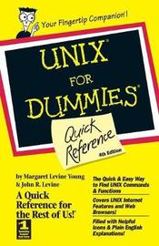 UNIX For Dummies Quick Reference by Margaret Levine Young