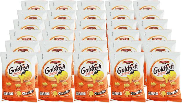 Pepperidge Farm Goldfish Crackers 43g BULK 30pk   at Mighty