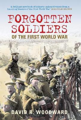 Forgotten Soldiers of the First World War by Ann Woodward image