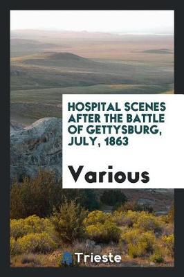 Hospital Scenes After the Battle of Gettysburg, July, 1863 by Various ~