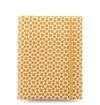 Filofax: A5 Impressions Notebook - Yellow + White