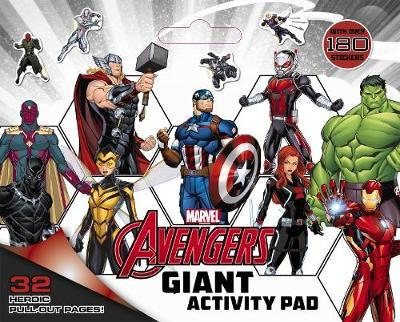 Marvel: Avengers Giant Activity Pad