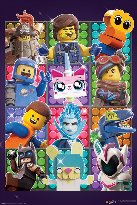 The Lego Movie 2 Maxi Poster - Some Assembly Required (983)