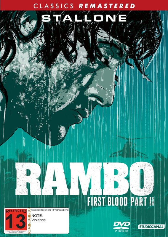 Rambo: First Blood Part II on DVD