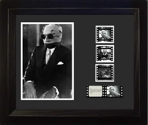 FilmCells: Double-Cell Frame – Invisible Man (Claude Rains) image
