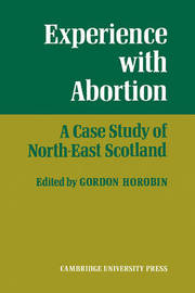 Experience With Abortion by Gordon Horobin image