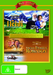 Heidi / Swiss Family Robinson (1960) - Collector's Double Pack (2 Disc Set) on DVD