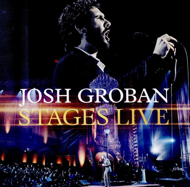 Stages Live (CD/Blu-ray) by Josh Groban