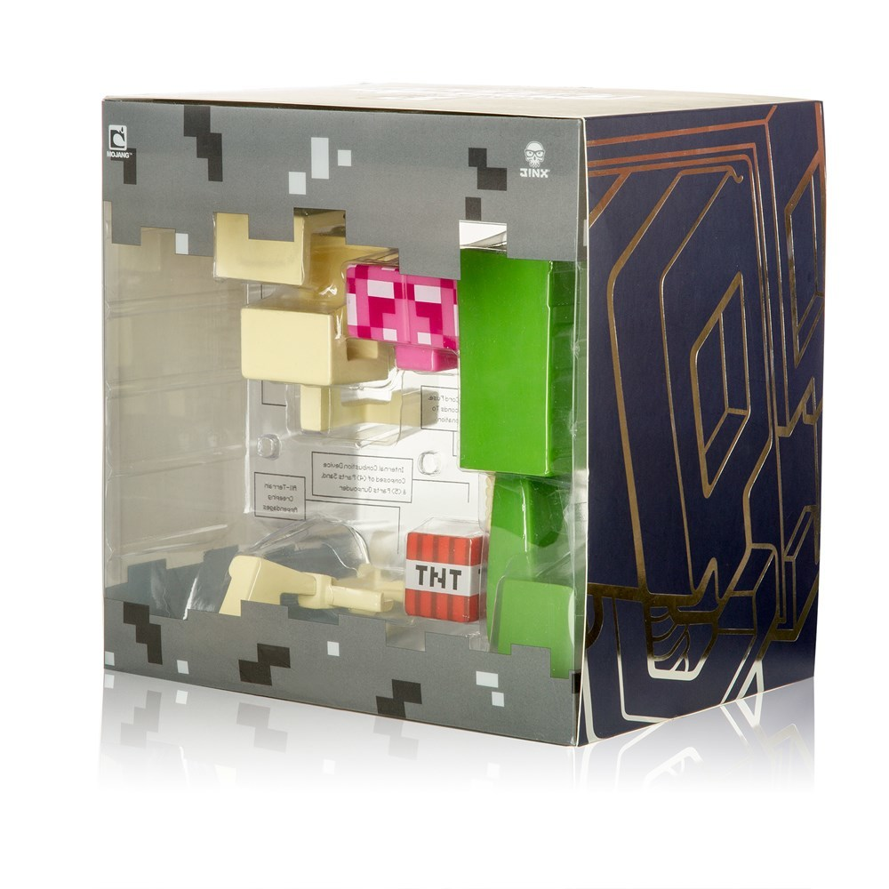 Minecraft Creeper Anatomy Deluxe Vinyl Figure   at Mighty Ape Australia