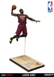 "NBA SportsPicks: LeBron James (Cleveland Cavaliers) - 6"" Action Figure"