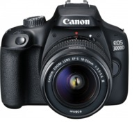 Canon EOS 3000D 18MP DSLR Camera (EFS 18-55 III)