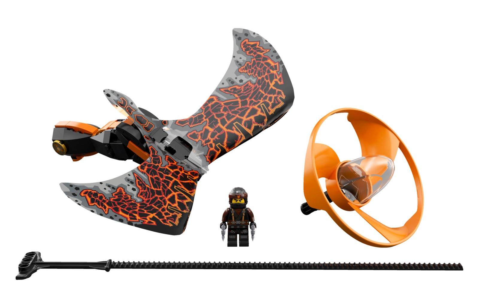 LEGO Ninjago - Cole Dragon Master (70645) image
