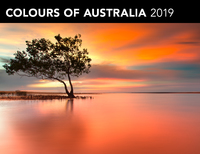 Colours of Australia 2019 Horizontal Wall Calendar