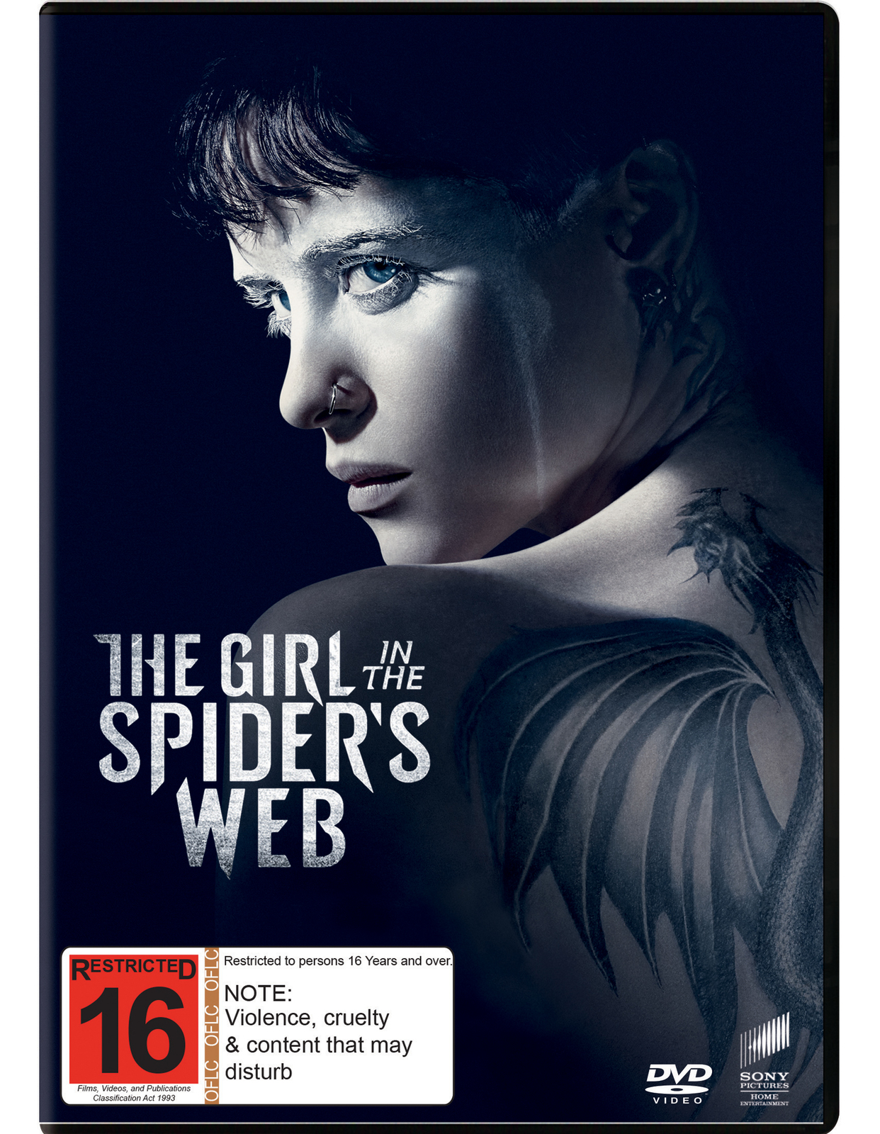 The Girl In The Spider's Web on DVD image