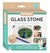 CraftMaker: Glass-Art Mini Kit - Glass Stone Paperweights image