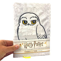 Harry Potter Plush A5 Notebook - Hedwig